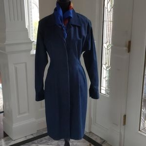 Vintage Donna Karan Denim Coat Dress 4